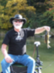 Bass fishing on the Allegheny River near Tionesta Pennsylvania