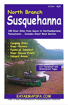 kayak canoe north branch Susquehanna River