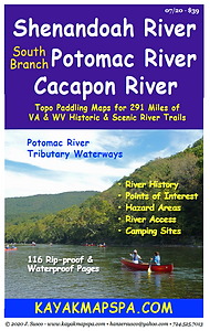 Kayak Canoe Shenandoah River, Cacapon River
