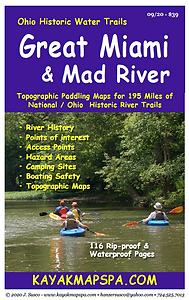 Kayak, Canoe Great Miami River Ohio