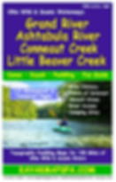 Grand River, Rocky River, Ashtabula River, Little Beaver River Ohio