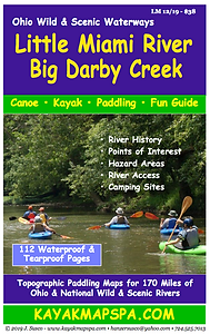 Kayak, CAnoe Little Miami River, Ohio