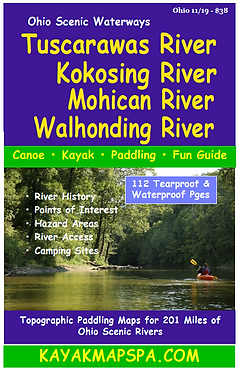 Tusarawas River, Kokosing River, Mohican River, Walhonding River, Ohio