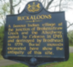 Buckaloon histric marker
