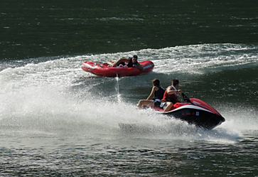 Jet Boats on Pine Dam Lake on Clarion River