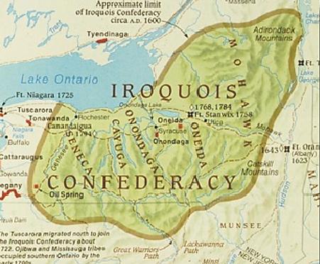 Iriquois Confederacy MAp