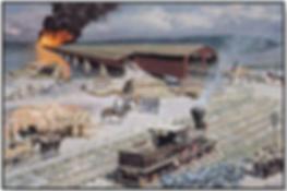 Wrightsville bridge burning susquehann river history