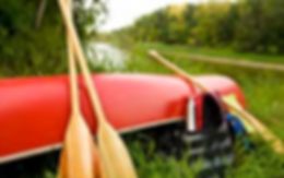 Canoe nd paddles