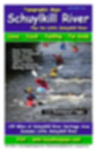 Schuylkill River KAyak and Canoe Topographic Map Guide