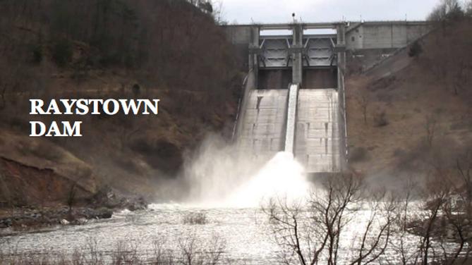 Raystown Dam in Huntingdon County Pennsylvania