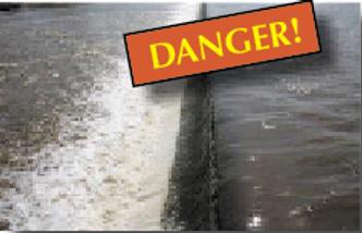 Canoe and kayak rive danger Dams
