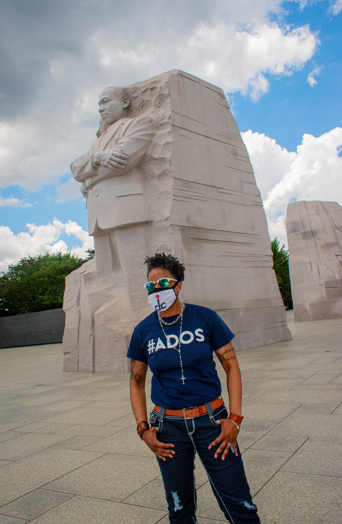 On Location at the MLK Memorial