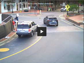 BLM Activists in NC Said They Were Almost Hit by a Car. The Driver is a Judge.