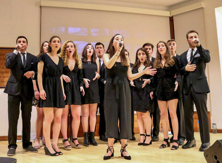 Mayim Family Shabbat Dinner and Service Featuring Tufts University Acapella Singers