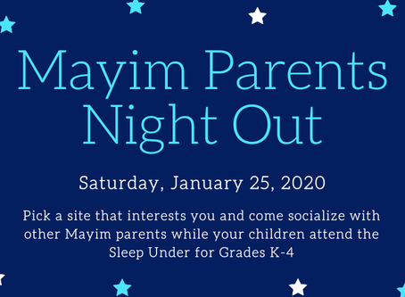 Mayim Parent's Night Out