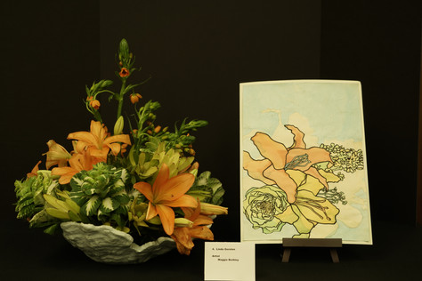 Beth Shalom Garden Club's Needham's Art in Bloom 2020