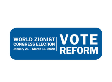 World Zionist Congress Elections-Vote Reform