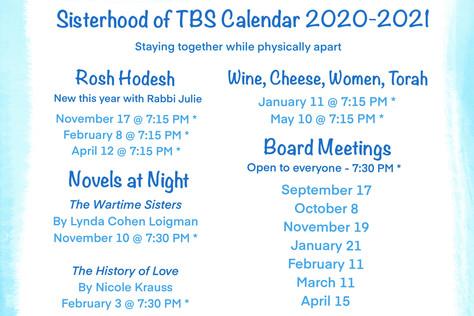 Be There - Sisterhood 2020/2021