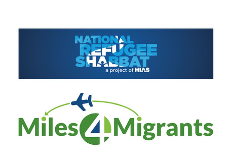 National Refugee Shabbat and Miles4Migrants