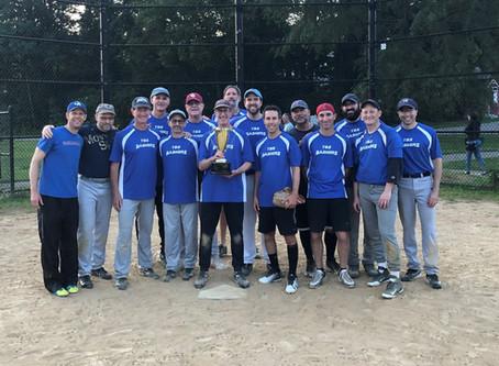 Mazel Tov to the TBS Bashers 3 Softball Team - Regional Softball Champions!!
