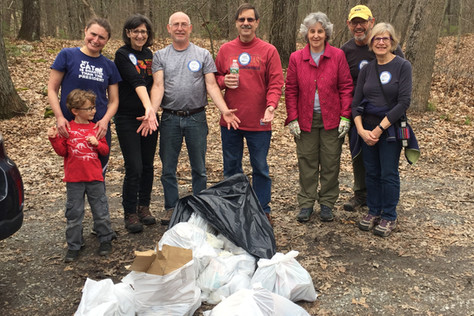 Cleanup Hikes are Back!