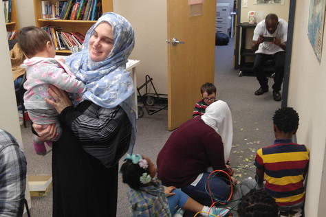 Suitcase Stories in support of local refugees