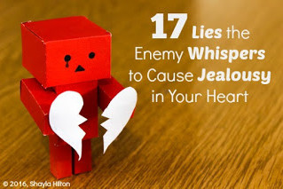 17 Lies the Enemy Whispers to Cause Jealousy in Your Heart