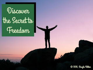 Discover the Secret to Freedom