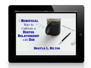FREE eBOOK:  7 Beneficial Ways to Cultivate a Deeper Relationship with God