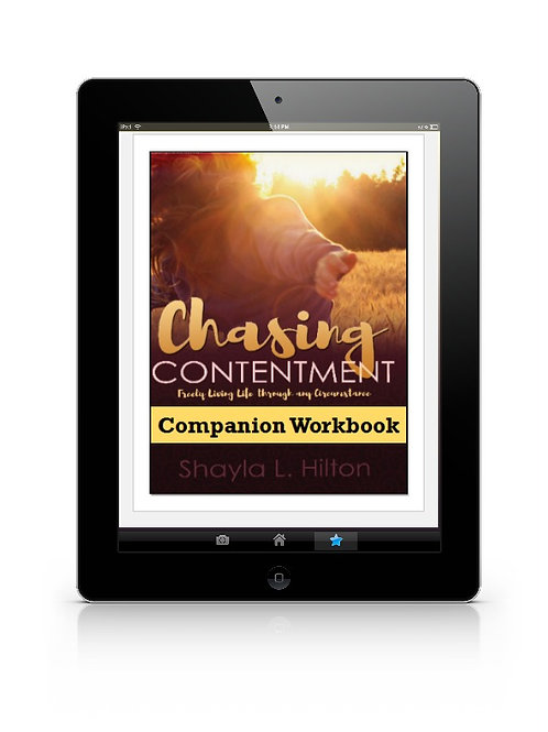 Chasing Contentment Companion Workbook (eBook)