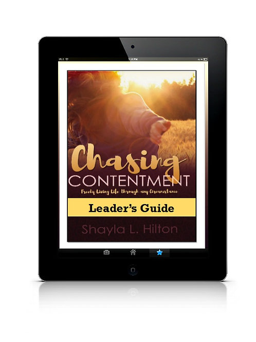 Chasing Contentment Leader's Guide (eBook)