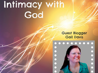 GUEST POST: Prayer and Intimacy with God by Gail Davis