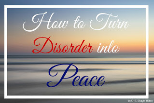 How to Turn Disorder into Peace