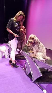 Olate Dogs: Brenda Burke, Jameson Animal Rescue Ranch, with Bella