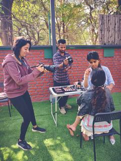 Sana Naaz Portrait Shoot with Meher Sondhi