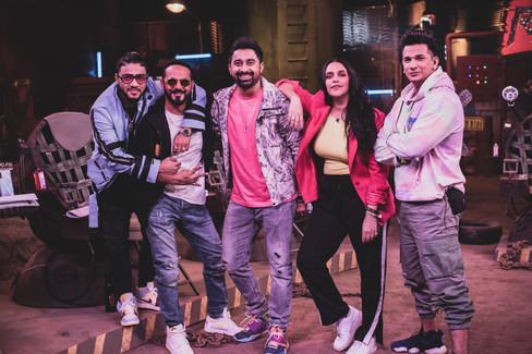 MTV Roadies Revolution - Neha Dhupia, Rannvijay, Prince Narula, Nikhil Chinappa & Raftaar