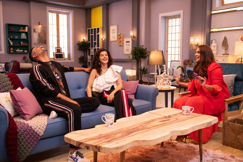 BFFs with Vogue - Vicky Kaushal & Taapsee Pannu with Neha Dhupia