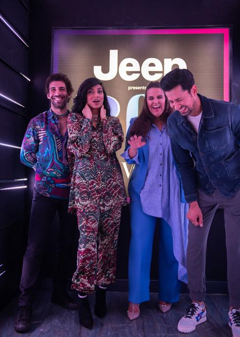 BFFs with Vogue - Jim Sarbh, Sumeet Vyas & Sobitha Dhulipala with Neha Dhupia