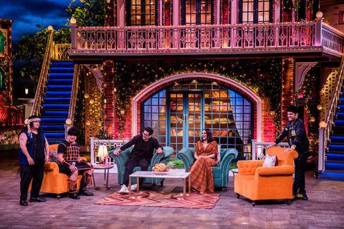 The Kapil Sharma Show - Neha Dhupia, Angad Bedi, Bharti & Krushna