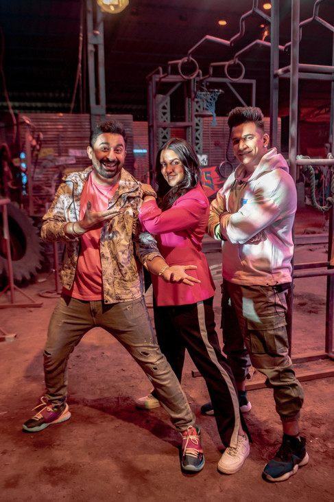 MTV Roadies Revolution - Neha Dhupia, Rannvijay & Prince Narula