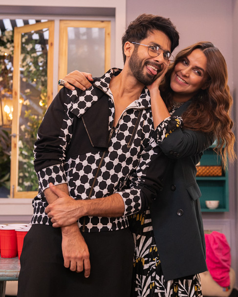 BFFs with Vogue - Shahid Kapoor with Neha Dhupia