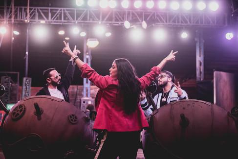 MTV Roadies Revolution - Neha Dhupia, Nikhil Chinappa & Raftaar