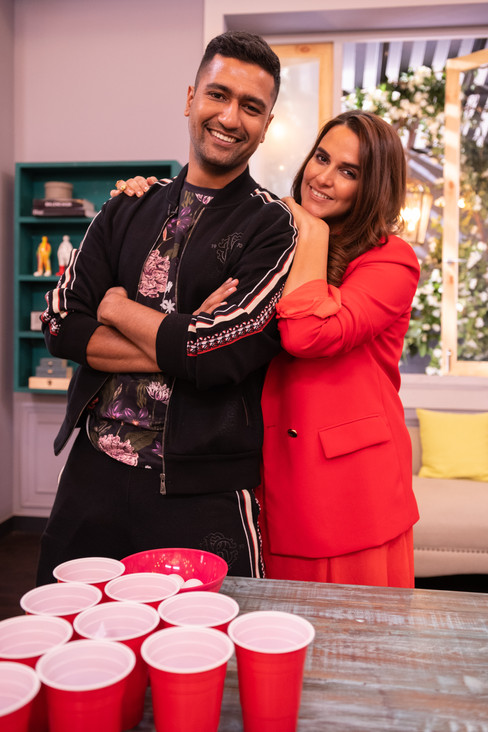 BFFs with Vogue - Vicky Kaushal with Neha Dhupia