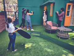 Sana Naaz Portrait Shoot with Priyanka Banerjee and Meher Sondhi