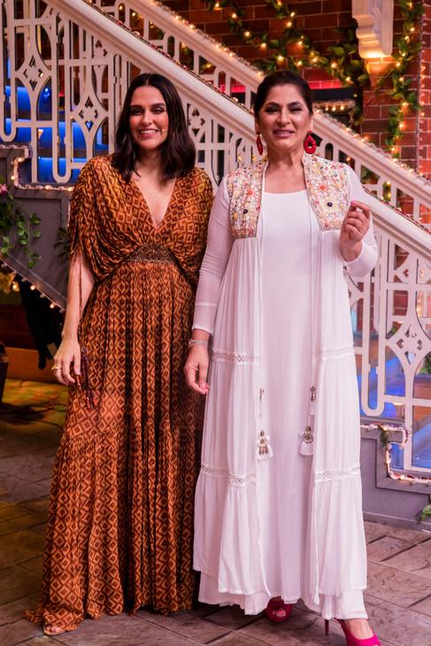 The Kapil Sharma Show - Neha Dhupia & Archana Puran Singh