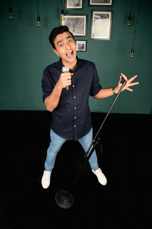 Sterling Reserve The Comedy Project by Comedy Central with Varun Thakur
