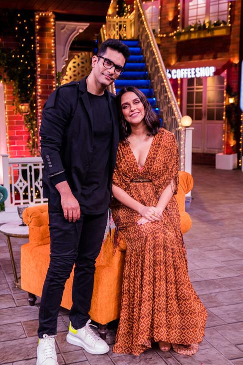 The Kapil Sharma Show - Neha Dhupia & Angad Bedi