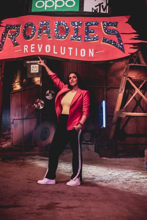 MTV Roadies Revolution - Neha Dhupia