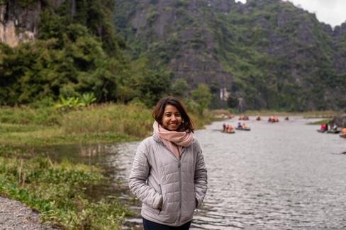 Priyanka Banerjee in Vietnam