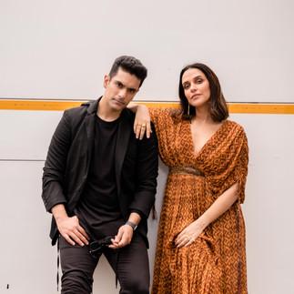 Neha Dhupia and Angad Bedi